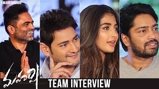 Download Maharshi Movie Team Interview | Mahesh Babu | Pooja Hegde | Allari Naresh | Vamshi Paidipally Mp3 and Videos