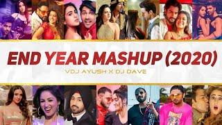 End Year Mashup 2020 | VDJ Ayush | DJ Dave NYC | Bollywood Party Mashup | AR Music Official