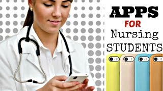 TOP 5 (Iphone/Android App's) FOR NURSING STUDENTS **nursing school edition**