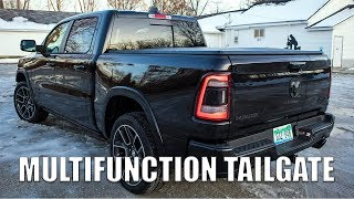 We have a Ram 1500 with the multifunction tailgate for a week. What do you want to know!?