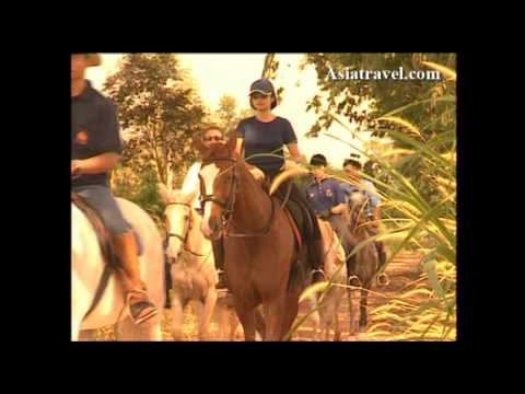 Horse Riding Horseshoe Point Resort and Country Club Thailand by Asiatravel.com