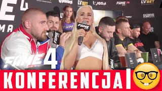 FAME MMA 4 | PIERWSZA KONFERENCJA | SKRÓT
