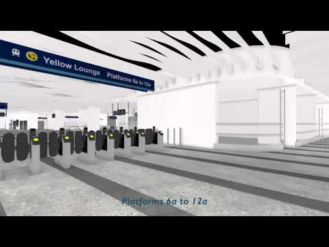 Birmingham New Street Station - How To Access Platforms
