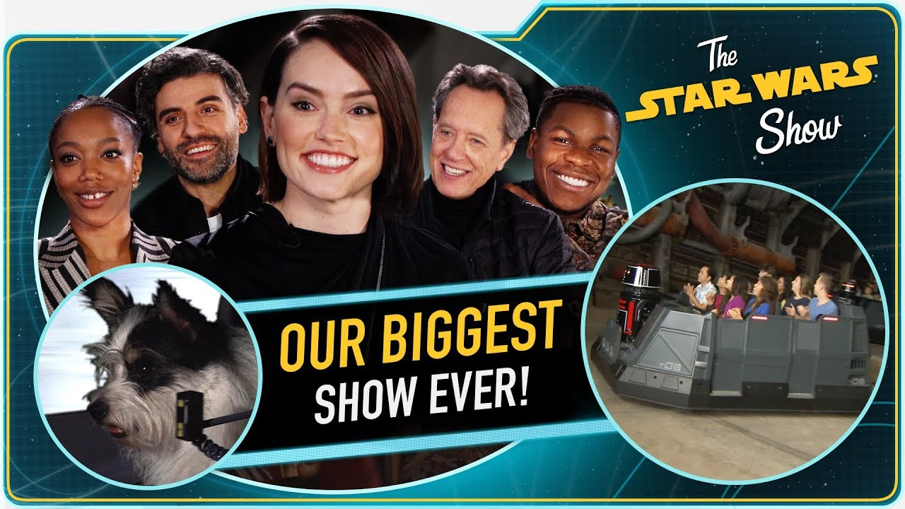 The Star Wars Show The Rise Of Skywalker Cast Interviews And Rise Of The Resistance Debut Star Wars News Net
