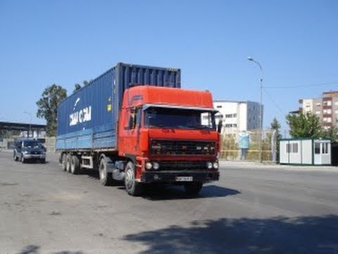 TRUCKS IN ALBANIA, DURRES THE MAIN PORT