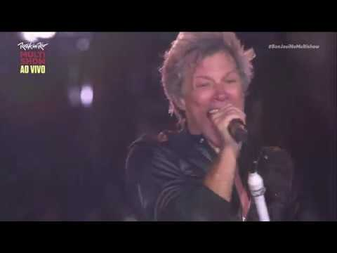 Bon Jovi - Rock in Rio 2017 - Livin on a Prayer