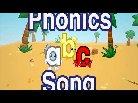 Phonics ABC Song Learning Alphabets Fun For Kids تعليم الحروف الأبجدية باللغة الانكليزية للأطفال