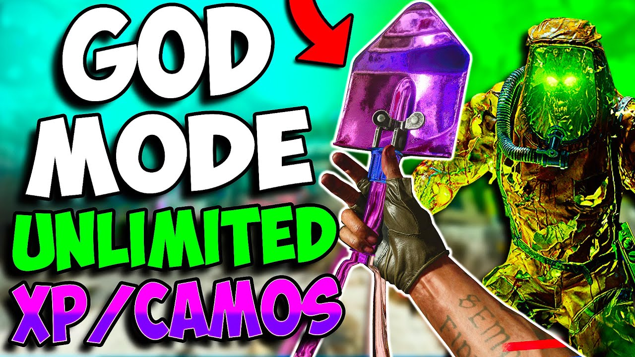 """Cold War Zombie Glitches: ALL NEW WORKING CAMO/XP GLITCH SPOTS!! """"Unlimited XP/CAMOS!"""""""