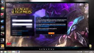 Fix League of legends login errors [DNS Server issues] (Still works January 2018!)