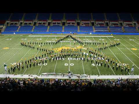 NDSU Gold Star Marching Band Girdiron Concert 2017