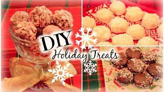 Last Minute DIY Holiday Treats 2014! Thumbnail