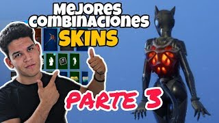 THE BEST SKIN COMBINATIONS OF THE **SEASON 9** FORTNITE