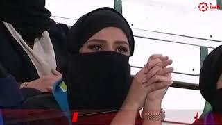 Саудовским женщинам разрешили ходить на футбол! Новости от 10.01.2018.