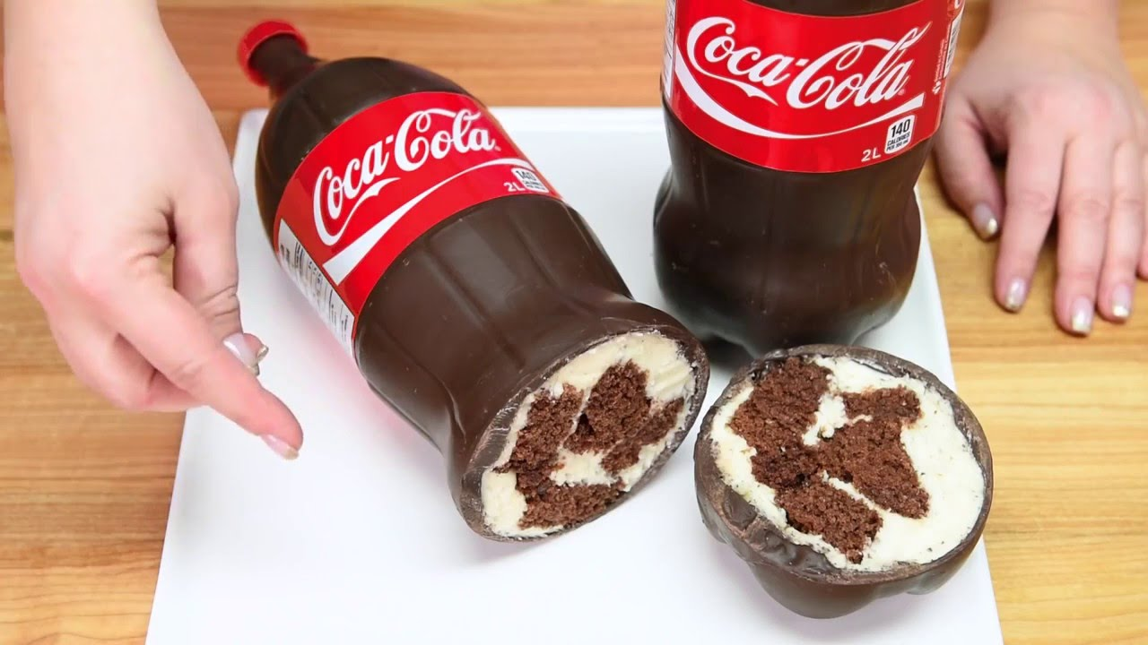 Diet Coke Can Cake