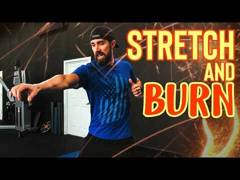 3 Minute �� FAT BURNING Metabolic Stretching Routine (Lose Weight)