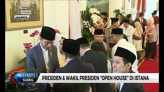 """Presiden & Wakil Presiden Gelar """"Open House"""" di Istana"""
