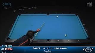 2017 US Open 10-Ball: Gomez vs Pagulayan