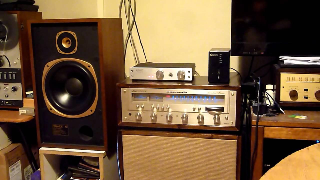 Tannoy T125 Speakers 1979 Amp Marantz 2226b Receiver 1977