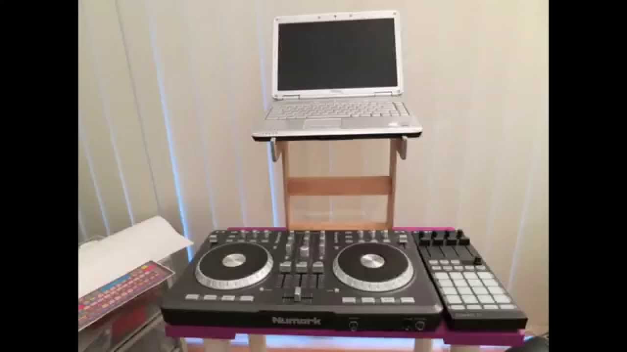 How To Diy Dj Laptop Stand Youtube
