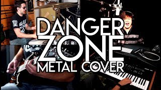 Danger Zone: METAL COVER by the Fiddlin' Bens