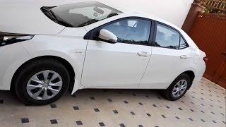 TOYOTA Corolla GLi 1.3 2017 Detailed  Review | Toyota Pakistan | Gli 2017