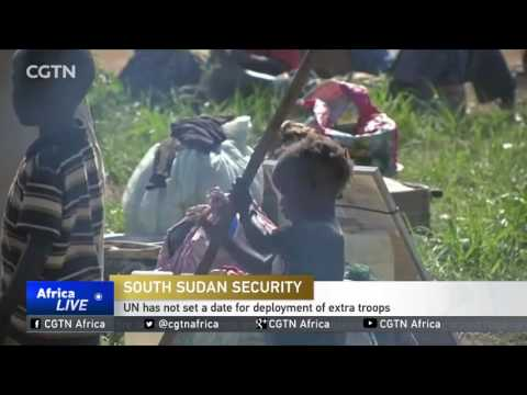 No progress on deployment of additional UN peacekeepers to South Sudan