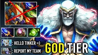 THUNDER GOD Zeus 150k Damage Counter Pro Tinker Mid Crazy Skill Spam Nimbus Epic Game 7.22 Dota 2