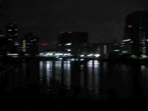 2016 6 13 night walk in chuo-ku
