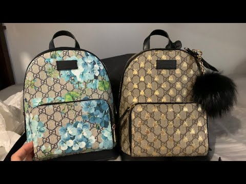 Gucci Bloom Backpack Unboxing