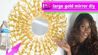 Large Gold Mirror DIY Decor
