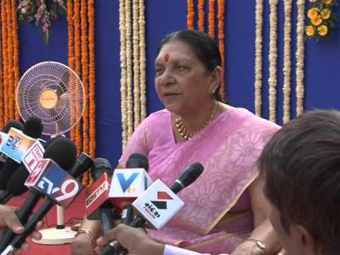 Gujarat CM Press Byte - Gandhinagar
