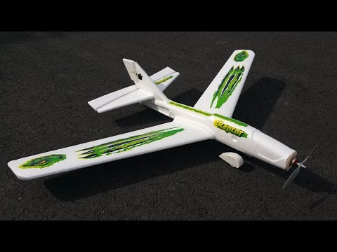 $10 Walmart Glider Conversion - Maiden + Bonus BabyBlender Crash