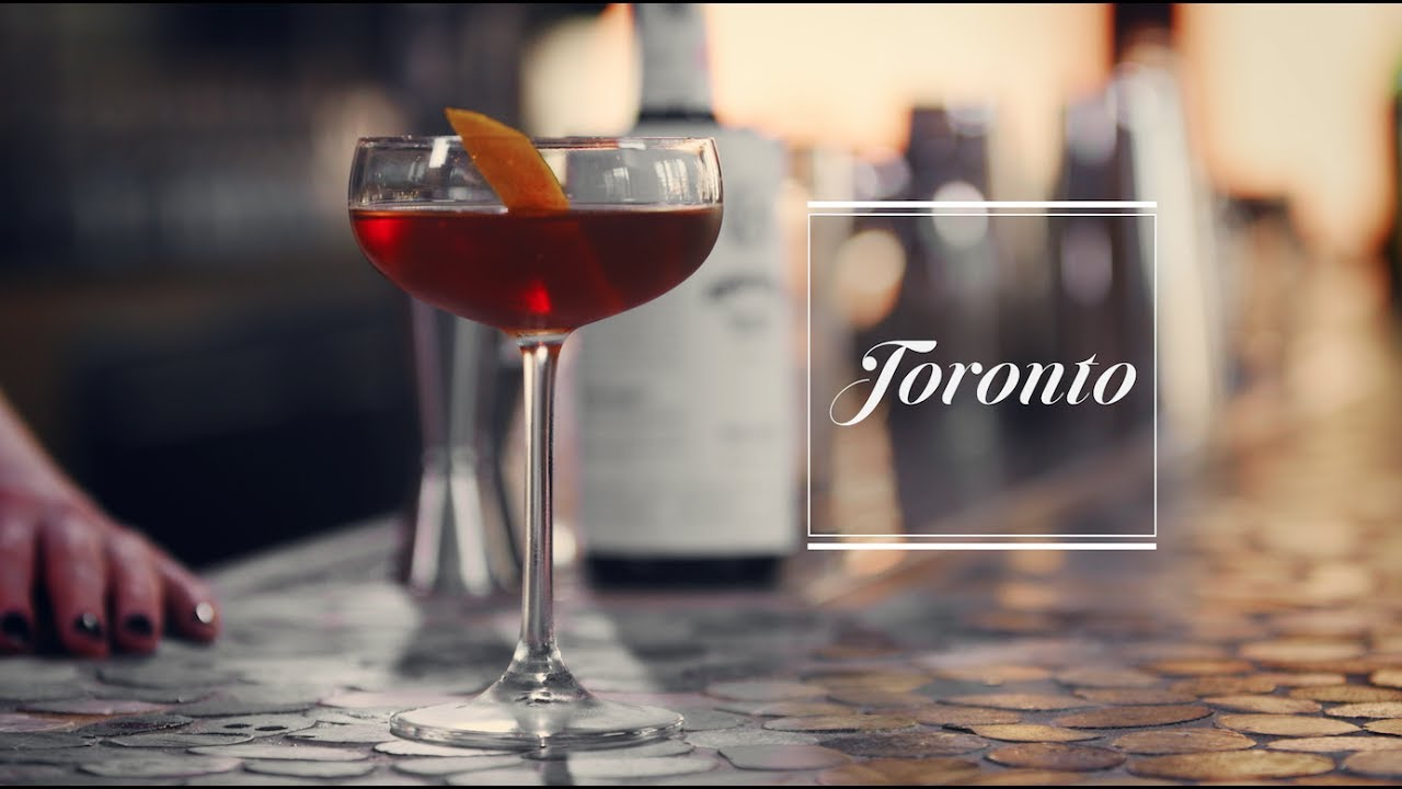 How to make the Toronto cocktail - YouTube