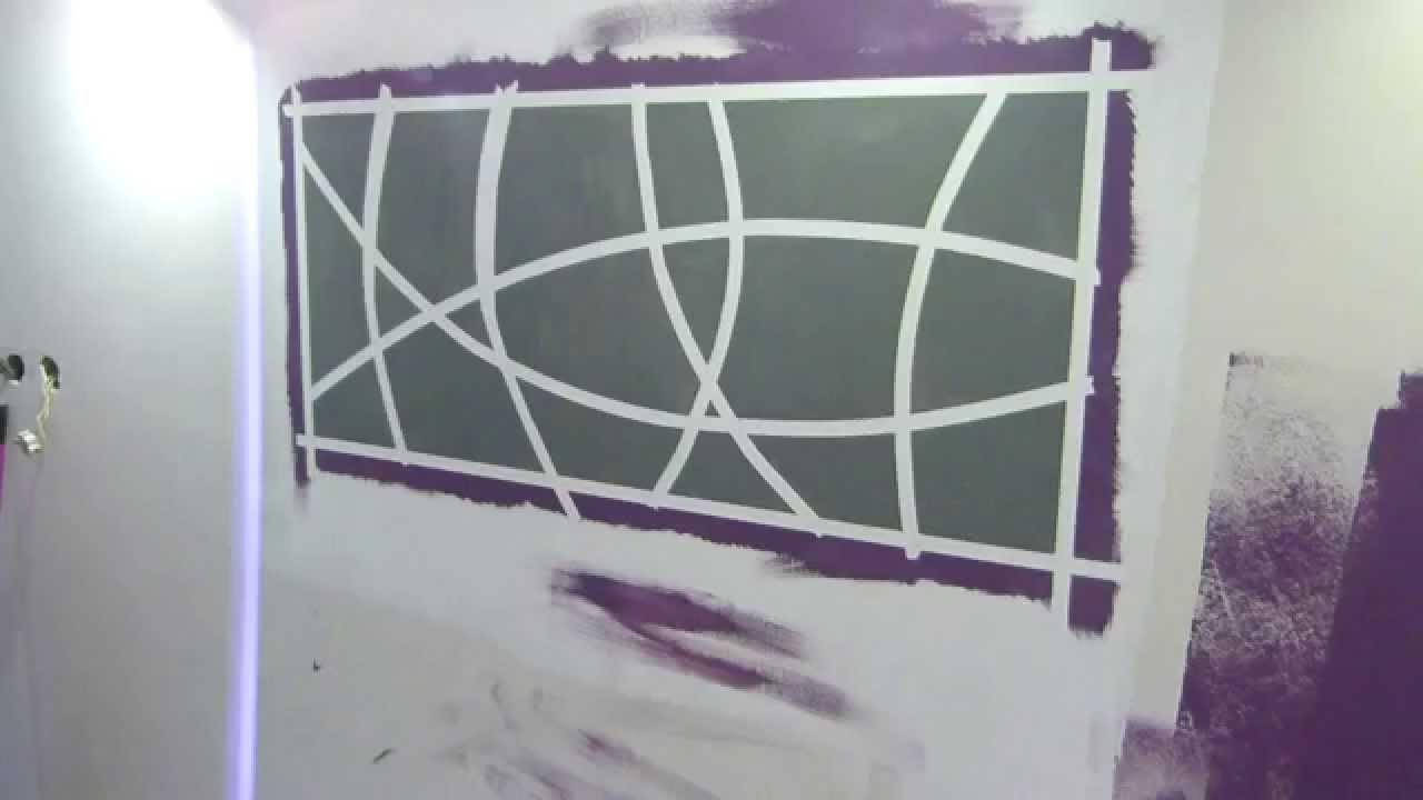 Ciekawe Malowanie Dekoracji Na ściany W Sypialni Inspiracje