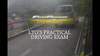 LTO Practical Driving Test Demo How to Pass