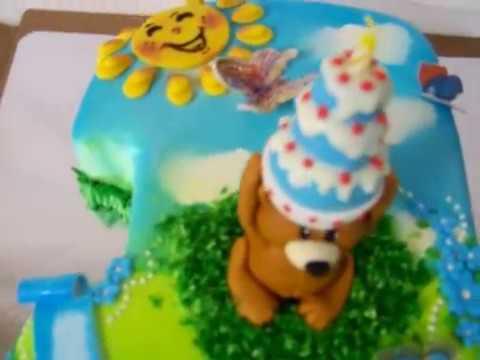 Изготовление торта на заказ на годик