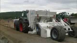 Maszyny drogowe, budowlane, stabilizatory gruntu, rozsypywarki STEHR, ciągniki, traktory FENDT