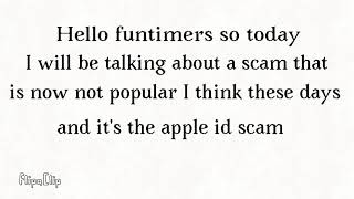 Scams?! / Apple ID problems / Nothing (^~^)