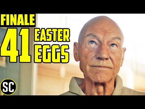 Star Trek: Picard FINALE- Every Easter Egg in Episode 10