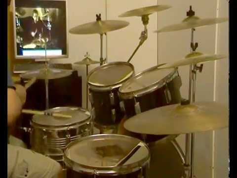 VISION of ATLANTIS - LOST -(with nicole bogner) -drum cover