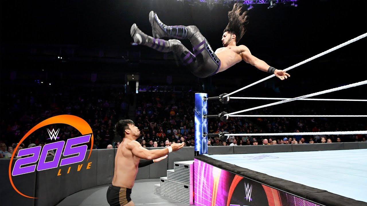 Download Mustafa Ali vs. Hideo Itami: WWE 205 Live, Sept. 26, 2018