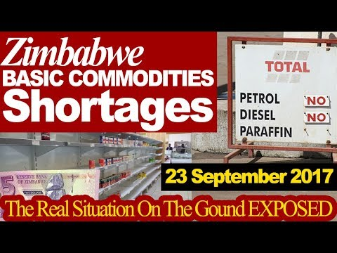 Zimbabwe Basic Commodities Shortages