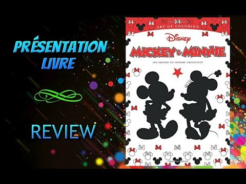 Coloriage Adulte Anti Stress Review Disney Art Of Coloring Mickey