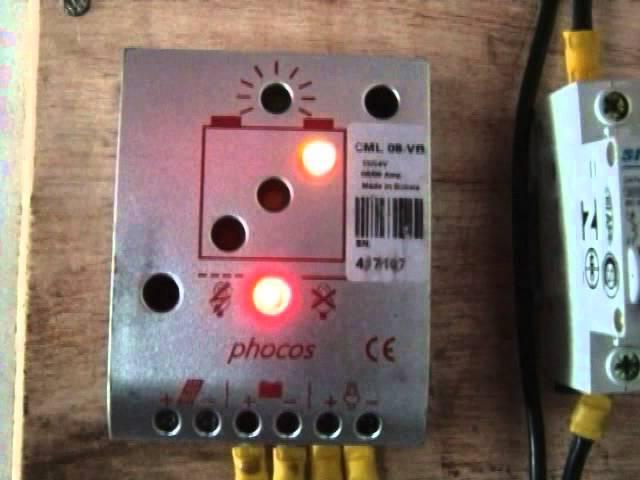 El sistema fotovoltaico - Parte III: Regulador de carga