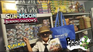 Opening The GREATEST Burning Shadows Booster Box EVER! POKEMON Launch Party At Psycho Turtle! Part 1