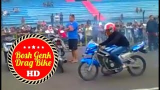Video DRAG LIAR NINJA R VS RR Sirkuit SENTUL Hagemaru nchex mtr speed HD