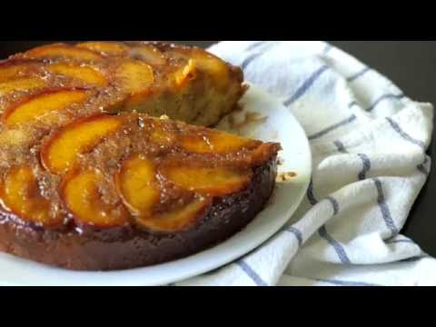 Peach Upside Down Coffee Cake