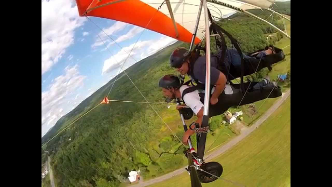 Tandem Hang Gliding in Charlestown New Hampshire  Morningside