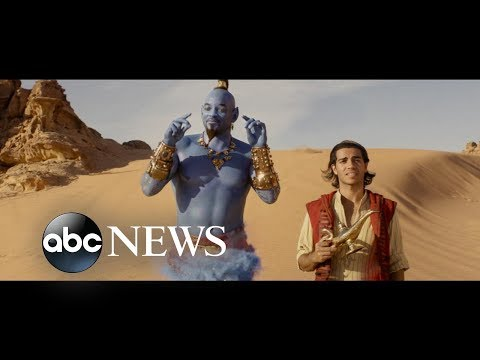 Exclusive first look at the new 'Aladdin' trailer | GMA