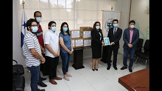 Huawei dona 50 tablets a la UTP